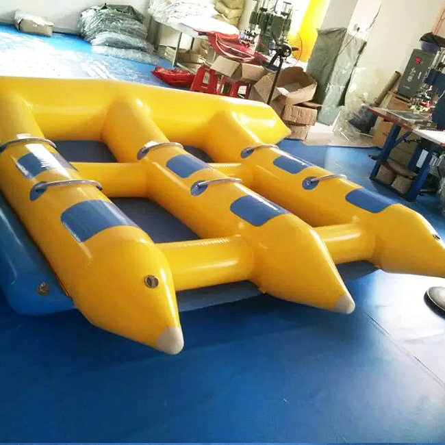 6seats inflatable flyfish towable factory