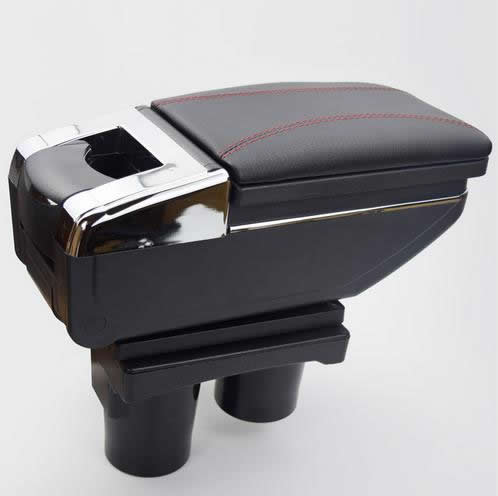 For Citroen C-elysee/ Peugeot 301 Armrest Pu Leather Central Store ...