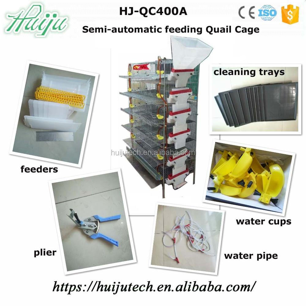 Strong Wire Mesh Quail Laying Cage Hj-qc400a - Buy Quail Laying Cage ...