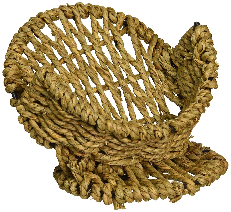 Thirstystone Seagrass Pedestal Coaster Holder