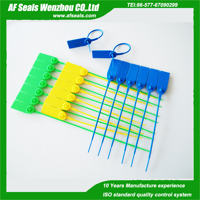 AF-ST22 plastic security zip lock strip seals 200mm