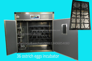 Holding 36 ostrich eggs incubator/industrial egg incubator for ostrich