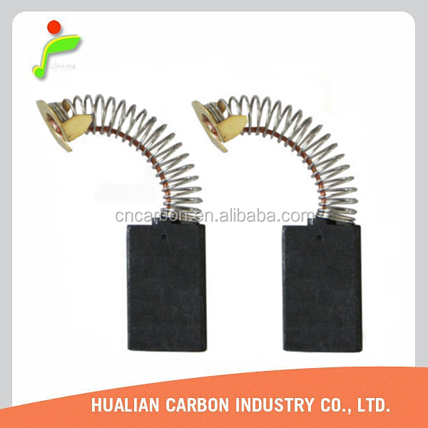 High quality customized motor Electrical graphite carbon brushes for HITACHI,BOSCH,METABO,