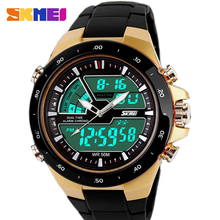 Readeel Men Sports Watches Waterproof Fashion Casual Quartz Watch Digital & Analog Military Multifunctional Men's Sports Watches