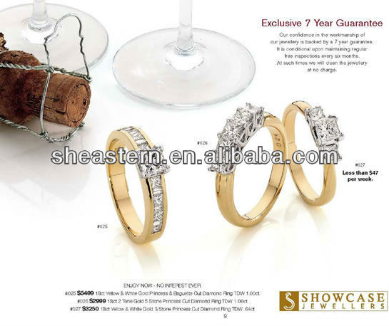 Sterns Wedding Rings Catalogue, View Sterns Wedding Rings