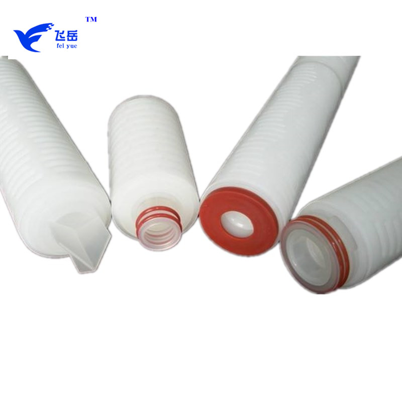 0.1 micron 10 inch PP pleated cartridge filter for water treatment
