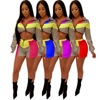 MJ079 Reflective Two Piece Set Women Clothes Festival Crop Top And Biker Shorts Suit Sexy Club Outfits Tracksuit Matching Sets