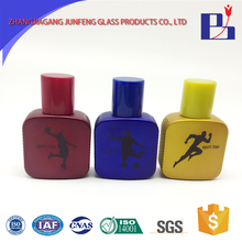 Junfeng 30ml fully stocked glass custom made sample perfume atomizer bottles