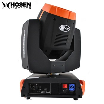 Promotional item ! 230w 7R sharpy moving head beam light with 6 layer lens ,with glass gobo