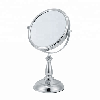 Miraculous Sleek Makeup 8X Magnifying Standing Desk Small Mirror Buy Standing Desk Small Mirror Metal Stand Table Mirror Chrome Table Standing Personalized Download Free Architecture Designs Scobabritishbridgeorg