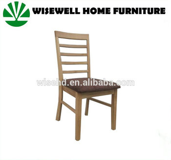 W C 571 Solid Oak Wood Dining Chair Ladder Back Chair