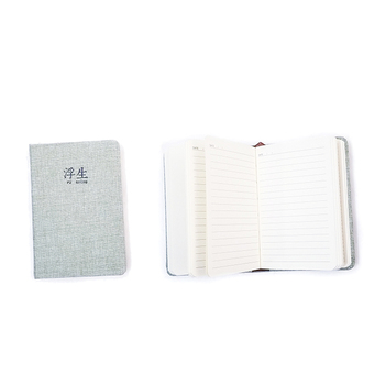 Hemp Office Paper Cover Linen Book Printing Notebook
