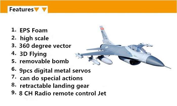 Professional Flight Hobby 70mm Edf Rc Jet Eps Foam Model