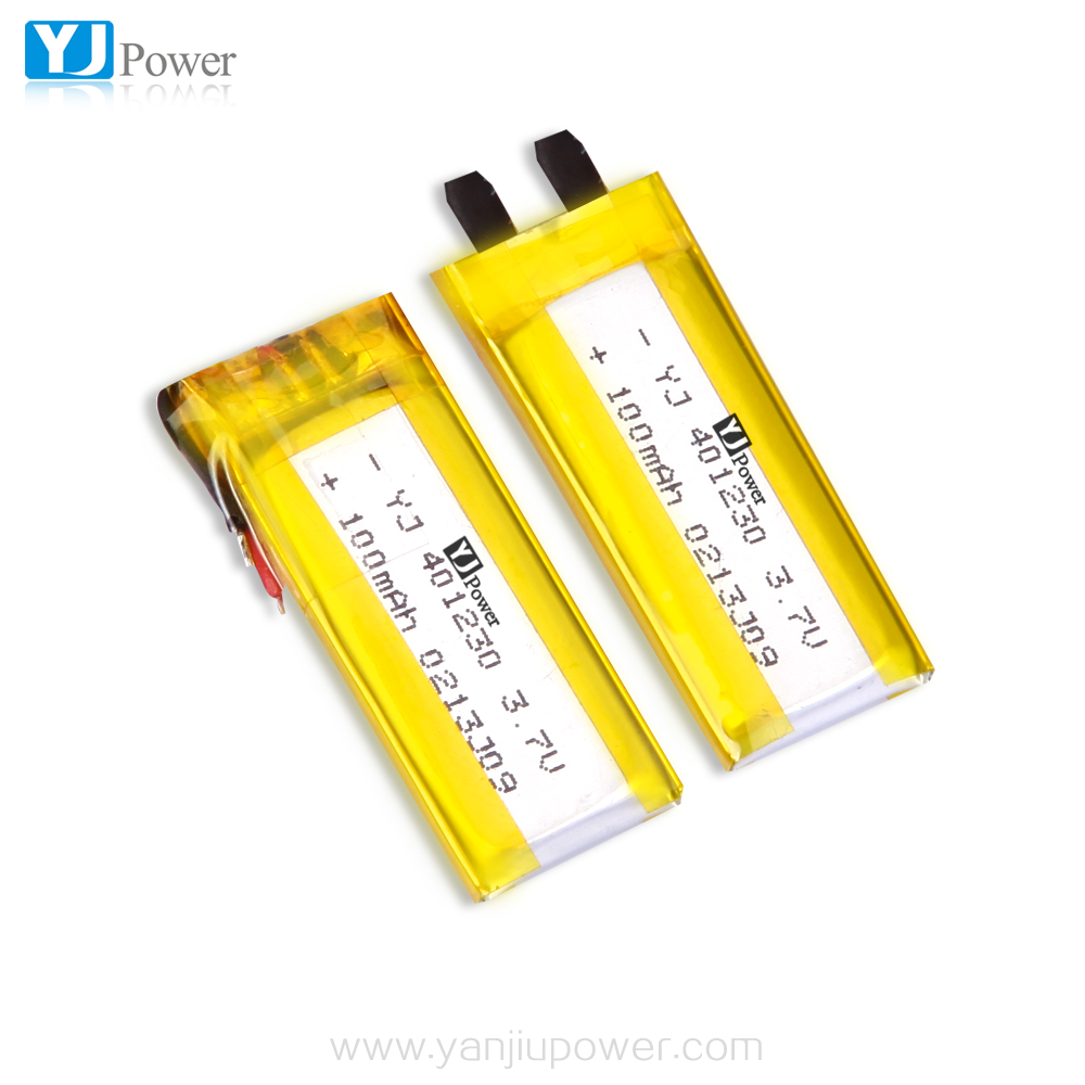 Small li po battery 3.7v 120mah with 4.0*12*30mmSmall Lithium polymer battery with PCM High Rate Discharge in good price