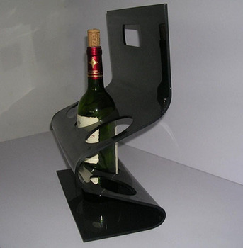 Clear Acrylic Wine Rack Display