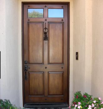 Indian Main Exterior Doors Simple Teak Wood Door Designs With High Quality