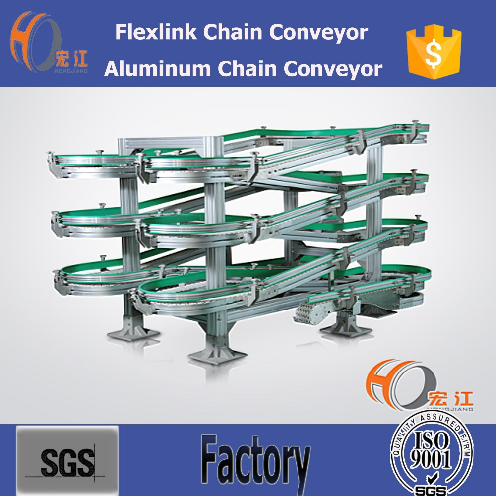 ALPINE ACCUMULATING SPIRAL CONVEYORS FOR COOLING OR DRYING