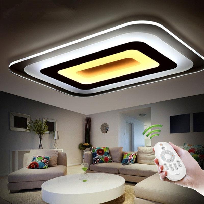 plafon moderno llev las luces del techo para la iluminacin de interior llev la lmpara de