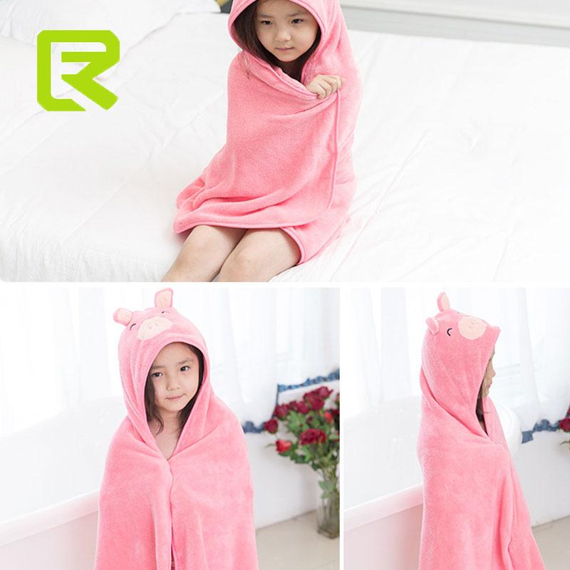 Bad & Dusche Produkt Babypflege Hudson Baby Tier Gesicht Mit Kapuze Handtuch Für Mädchen Ziemlich Elefanten