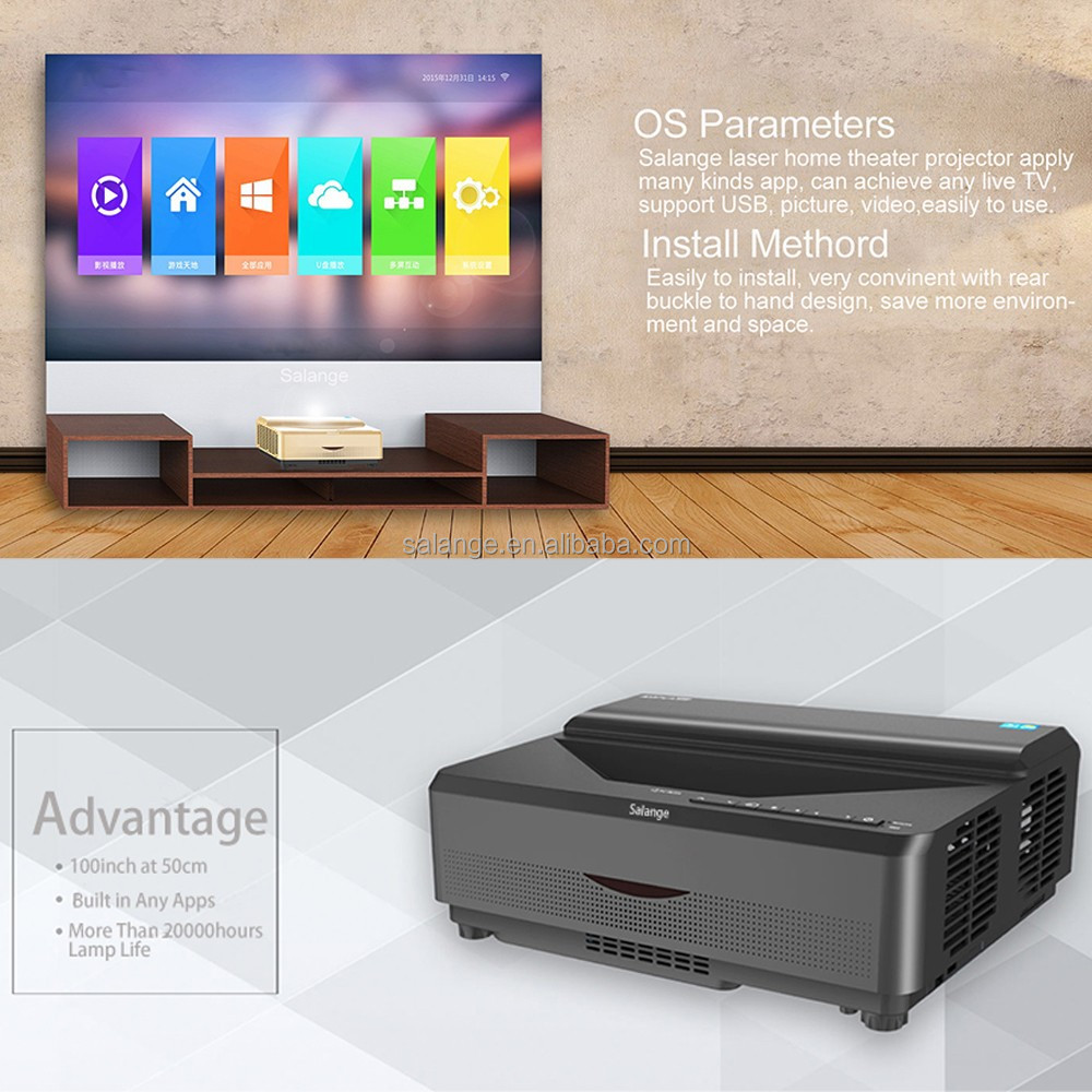 Ultra Short Throw Laser Projector Dmd Chip 4k Lumens - Buy Video  Projector,Daytime Projector,Laser Projector Product on Alibaba com