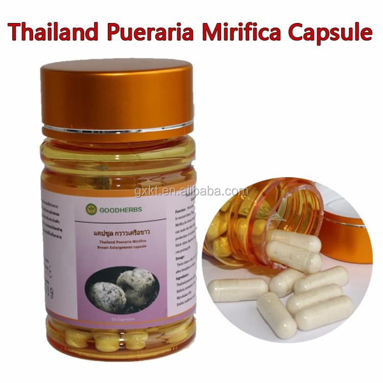 Pueraria mirifica capsule for big breast actives
