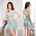 Lingerie Dress G string Thongs High Grade Sexy Lace Nightdress Women Sexy Lingerie Babydolls Chemises Flirting