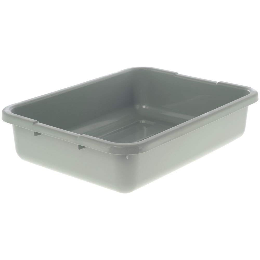 """Cambro Gray Bus Box with Handles, 21"""" x 15"""" x 5"""" (11-0523) Category: Bus Boxes and Lids"""