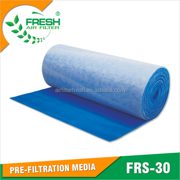FRS-30 FRESH EU3/G3 synthetic fiber blue&white filter media for spray booth