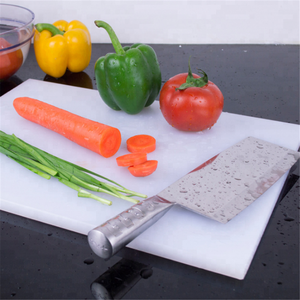 food safe plastic white nylon cutting board