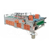 Dongguang canghai company hot sales automatic crash lock bottom folder gluer with prefold machine