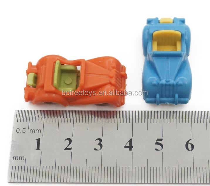 Mini Convertible Car Promotion Plastic Toys for 45mm Capsule
