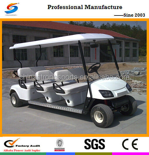 HOT SELL electric tourist car and Gas Golf Cart GC007