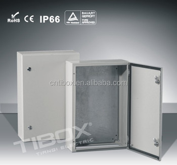 IP66 Waterproof Industrial Steel Metal Terminal Switchgear Electric Panel Box