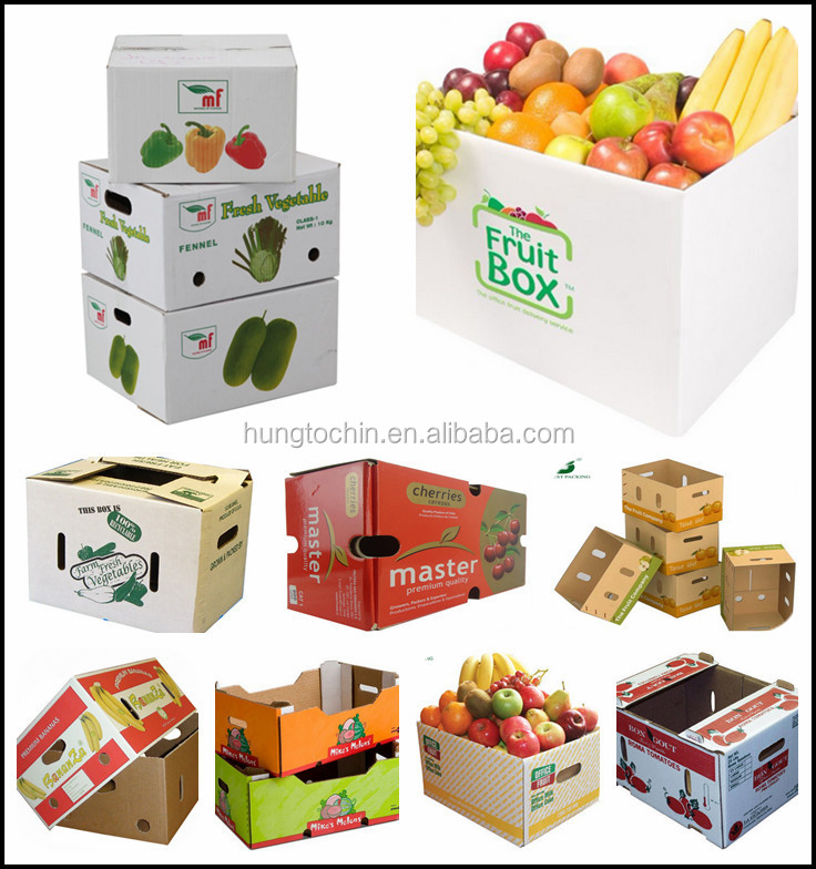 Fresh Apple Fruit Packaging Cardboard Box For Fruit And Vegetable