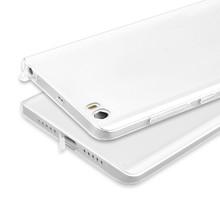 Xiaomi mi5 Case Ultra-thin HD Transparent TPU Dustproof Plug Cover For Xiaomi mi5 Compact Protector Phone Cases