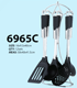 6-piece set kitchen supplies european mixed cooking kitchen tool 6965C