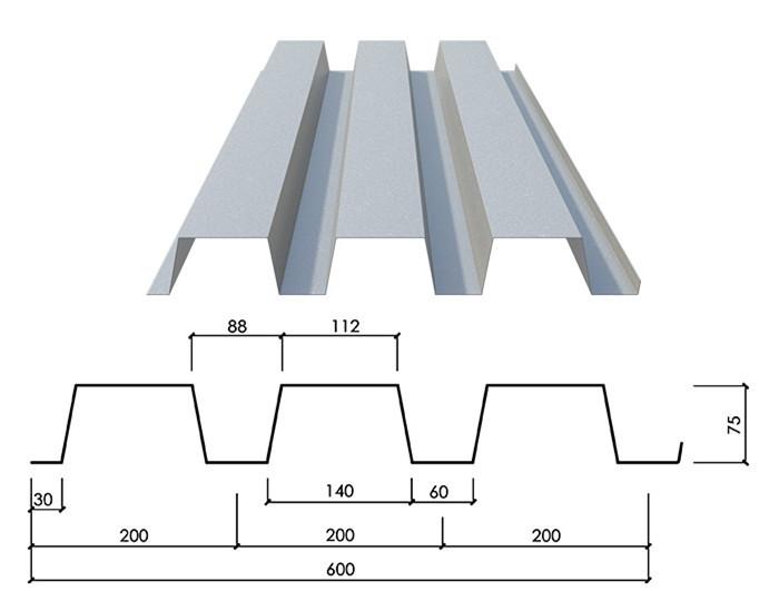 Galvanized Stainless Metal Composite Floor Deck 3 Buy