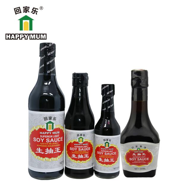 1.6L Haccp PET Bottle Sauce Light Soya Sauce