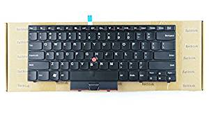 "Eathtek New Laptop Keyboard with trackpoint for IBM Lenovo Thinkpad Edge 15"" E50 14"" Edge 14"" E40 series Black US Layout, Compatible with part# 60Y9633 60Y9597 60Y9561 60Y9669 MP-09P13US"