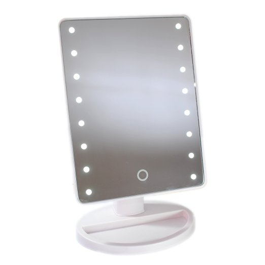 Elegant Vanity Girl Hollywood Makeup Mirror Portable Beauty Stand Up