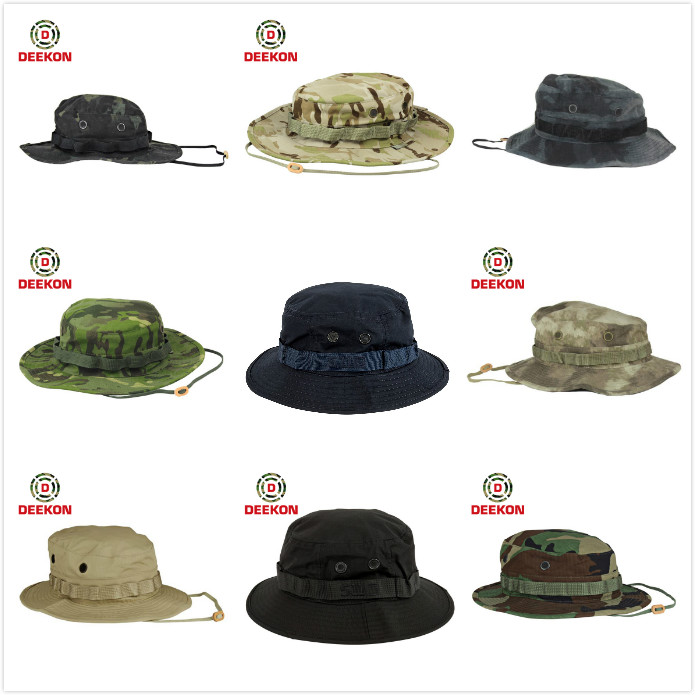 0849a0db81e Custom Military Khaki Camo Boonie Hat - Buy Boonie Hat