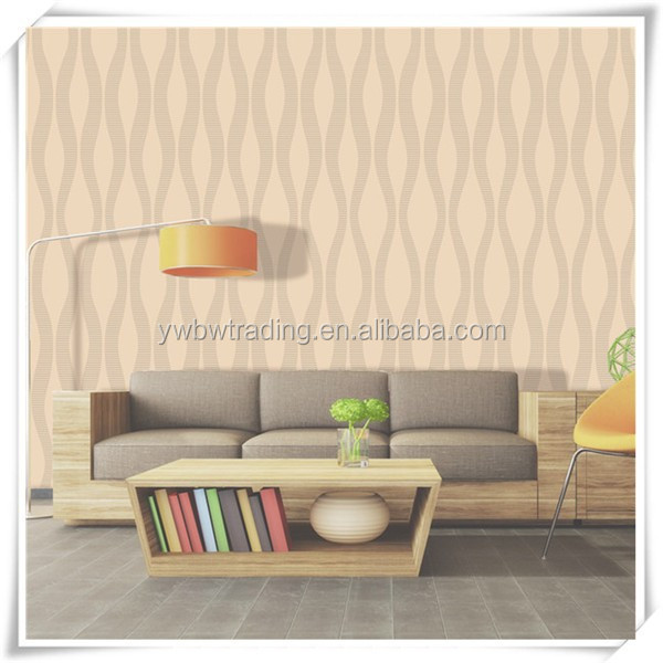 product detail nice and cheap soundproof thick vinyl project wall paper with low price