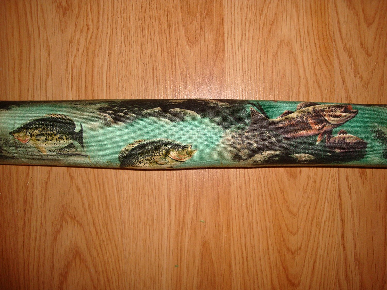 """Door Draft Stopper Filled with Fragrant Balsam - Standard 2"""" X 38"""" – Fish - Quality USA Made"""