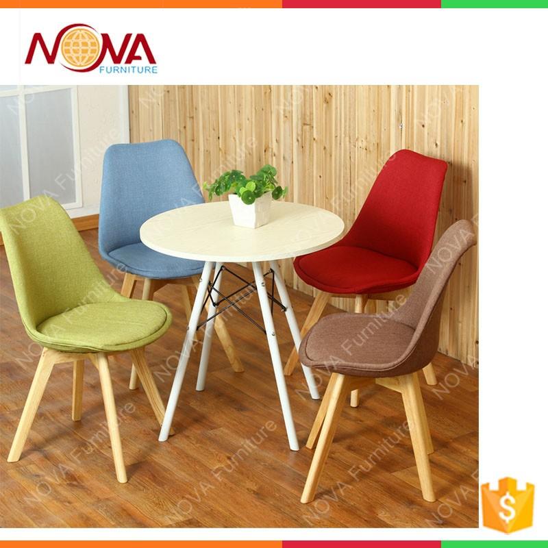 Wohnmöbel Esszimmer Allgemeine Günstige Verwendet Hause Moderne Freizeit Design Bunte Leder Holz Beine Stühle Für Heißen Verkauf Buy Product On