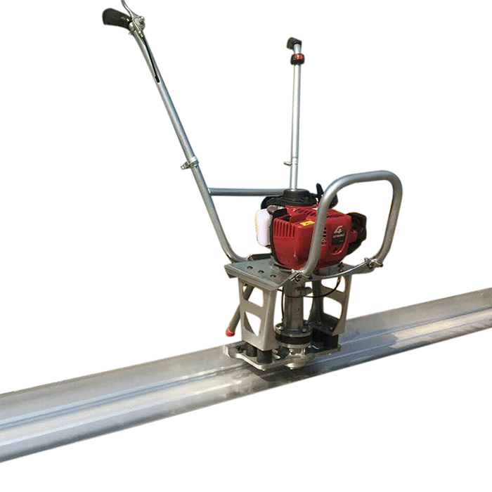 Stainless steel powerful vibratory floor finishing machine vibrating laser concrete screed