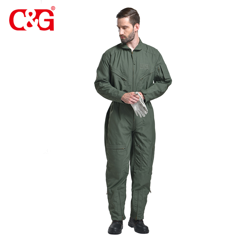 e15845391060 China Sage Green Coverall