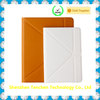 Good feeling touch leather case bluetooth keyboard for ipad case leather
