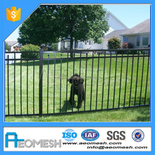 black powder coated aluminum fence post with competitive price