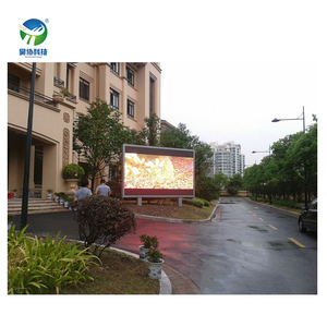Professional supply full color outdoor p10 led display with best led advertising board price double side led display