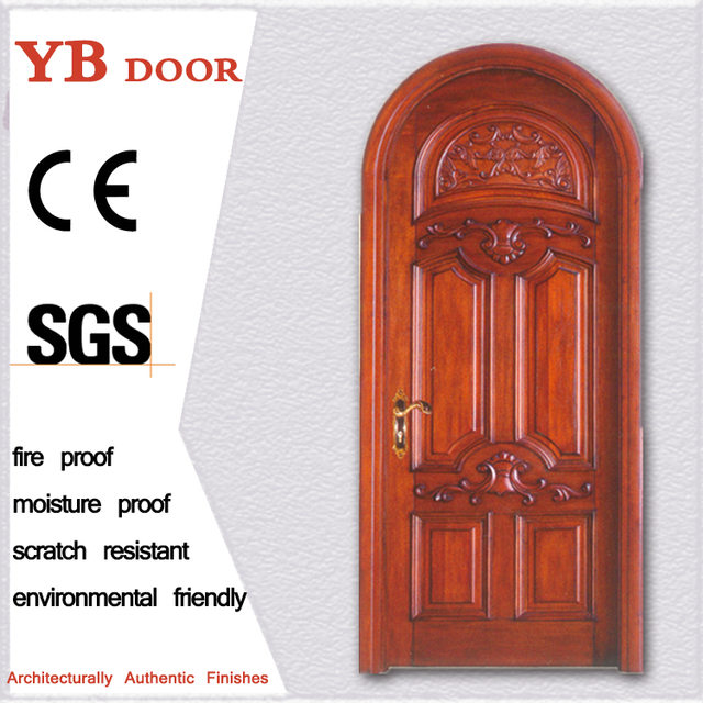 Commercial Royal Style House Wooden Fancy Interior Doors Latest Room Doors  YBVD 6118